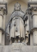 Image for Monarchs - King James II On Side Of City Hall - Bradford, UK