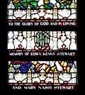 Image for Edwy Kenny and Mary Nash Stewart Window - Fernie, BC