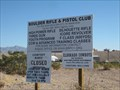 Image for Boulder Rifle & Pistol Club - Boulder City, NV