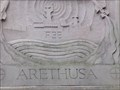 Image for HMS Arethusa Reliefs - Swansea Maritime Quarter - Wales. Great Britain.