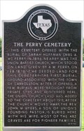 Image for The Perry Cemetery
