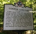 Image for Cooper Cemetery - Cleveland, TN - 2A 92