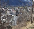 Image for View over the Village from a Hiking Trail - Baltschieder, VS, Switzerland