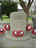Image for Combined WWI and WWII Stone of remembrance - Repton, Derbyshire