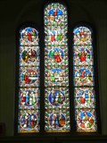 Image for East Window, St John the Baptist, Wolverley, Worcestershire, England