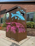 Image for Woonasquatucket River Greenway painted utility box 3 - Providence, Rhode Island