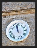Image for Town clock of the Priori Palace (L'orologio del Palazzo dei Priori) - Volterra, Italy