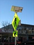 Image for Solar powered Pedestrian crossing - South San Francisco, CA