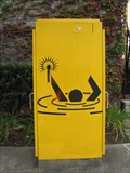 Image for Man in Water Reaching for Candle - Emeryville, CA
