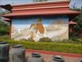 Image for Maharaja at Amber Fort Mural - Khajuraho, Madhya Pradesh, India