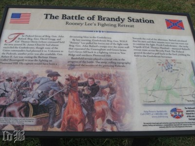 Rooney Lee`s Fighting Retreat - Rooney Lee, son of Robert E., met Buford`s forces at the Cunningham farm and continued to battle as he retreated to help at Fleetwood Hill.
