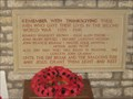 Image for Nassington  2nd World War Memorial - Northant's