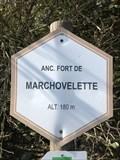 Image for Signe d'altitude du lieu Ancien fort de Marchovelette - Marchovelette -Belgique. 180m