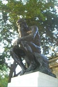 Image for The Thinker, by Auguste Rodin -- Philadelphia, PA  USA
