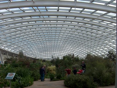 The Great Glasshouse, Carmarthenshire, Wales.