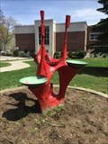Image for Garden Fountain - Waterford District High School, Waterford, ON