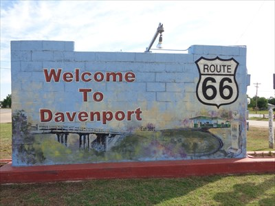 Welcome to Davenport - Route 66