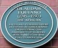 Image for Olaudah Equiano - Riding House Street, London, UK