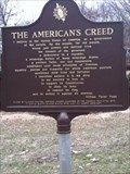 Image for The American's Creed/ In Grateful Remembrance
