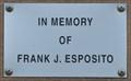 Image for Frank J. Esposito ~ Silvis, Illinois