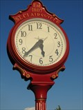 Image for St. Clairsville Clock - St. Clairsville, Ohio