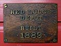 Image for Rocky Fork & Cooke City Railway Depot - 1889 - Red Lodge, MT