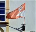 Image for Slaný - municipal flag on Municipal Office / Slany - mestská vlajka na mestském úrade (Central Bohemia)