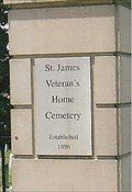 Image for Saint James Veterans Home Cemetery ~ St. James, MO