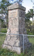 Image for Brevard County Line Marker-Mims, Florida