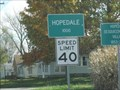 Image for Hopedale, Illinois.  USA.