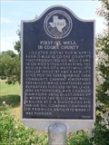 Image for First Oil Well in Cooke County