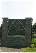 Image for Original Transom Window - St. Marcus Cemetery - Rhineland, MO