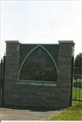 Image for Original Transom Window - St. Marcus Cemetery - Rhineland, MO