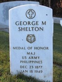 George Matthew Shelton, Sr, San Francisco National Cemetery