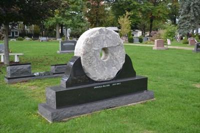 Johns Millstone - Girard Cemetery - Girard, PA Pic 3