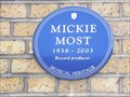 Image for Mickie Most - Charlbert Street, London, UK