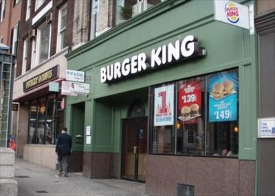 burger king tremont st boston ma burger king restaurants on. Black Bedroom Furniture Sets. Home Design Ideas