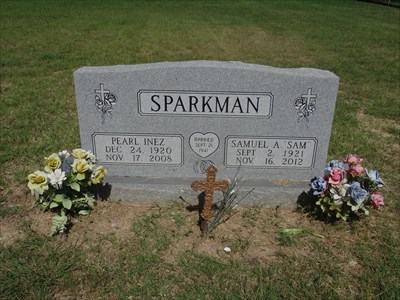 There are a few burials from more recent times.