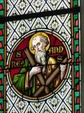 Image for Glasfenster der Filialkirche St. Andreas - Rain, Lk Rosenheim, Bayern, D