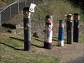 Image for Sunday School Group Bollards - Geelong Waterfront, Victoria, AU