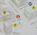 Image for Seaport District Map (Water/Fulton) - New York, NY