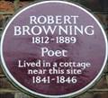 Image for Robert Browning - Jerningham Road, London, UK