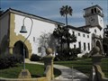 Image for Courthouse clock - Santa Barbara, California
