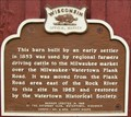 Image for Watertown Cattle Barn Historical Marker