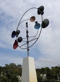Serenity - Wind Sculpture