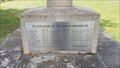 Image for Combined WWI / WWII Memorial Plaque - The Green - Castor, Cambridgeshire