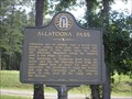 Image for Allatoona Pass Mkr #008-44, Allatonna, GA