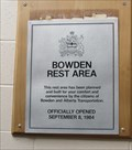 Image for Bowden Heritage Rest Area - 1984 - Bowden, Alberta