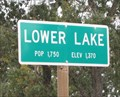 Image for Lower Lake, CA - 1370 Ft