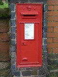 Image for Letter Box, Gate Post, Cemetery Chapel, Kidderminster, Worcestershire, England